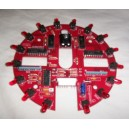 Attack from Mars Saucer LED Board (Red)